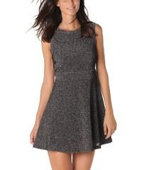 Dámské černostříbrné šaty Q2
