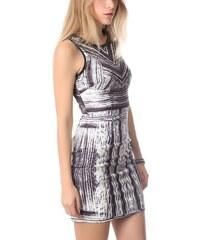 Dámské černobílé vzorované šaty Q2