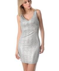 Dámské stříbrné šaty Q2