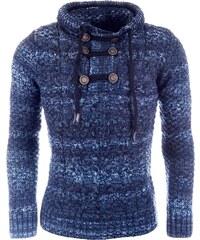 Pánský modrý svetr CARISMA