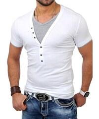 Pánské bílé tričko CARISMA