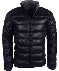 Pánská černá bunda VOLCANO