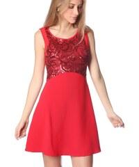 Dámské červené šaty Q2