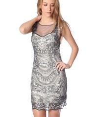 Dámské šedostříbrné šaty Q2