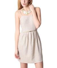 Dámské béžové šaty Q2