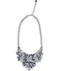 Dámský kovový náhrdelník Q2 s krystaly