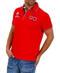Pánské červené polo tričko CARISMA