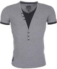 Pánské šedé tričko CARISMA