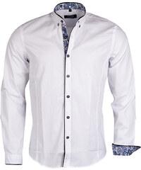 Pánská bílá košile CARISMA se stojáčkem