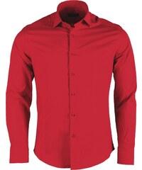Pánská červená slim košile REROCK