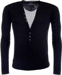 Pánské černé tričko CARISMA