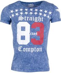 Pánské modré tričko CARISMA Straight 83