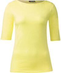 Street One Organic Cotton Shirt Beluna - citro yellow, Damen