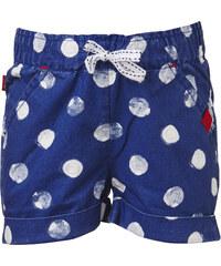 LEGO wear Dívčí puntíkované šortky Pyrene 306 - modré
