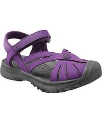 Keen Dívčí sandály Rose Sandal JR, purple heart/gargoyle