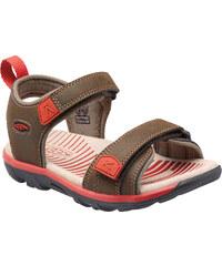 Keen Chlapecké sandály Riley II K, cascade brown/bossa nova