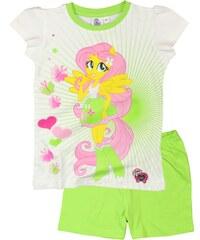 E plus M Dívčí pyžamo Equestria Girls - zelené