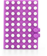 Fialový silikonový blok s puntíky A6 Mark's Tokyo Edge Silicon