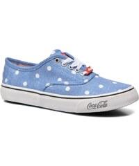 Coca-cola shoes - Kick Rimini - Sneaker für Damen / blau