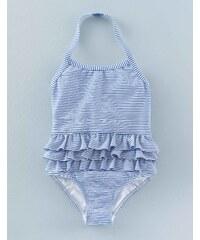 Badeanzug mit Rüschen Blau Mädchen Boden