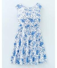 Mara Kleid mit schwingender Passform Blau Damen Boden