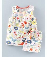 Sommerliches Pyjamaset Ge Mädchen Boden