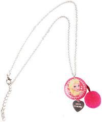 Disney Dívčí náhrdelník Frozen - růžový