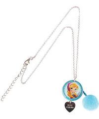 Disney Dívčí náhrdelník Frozen - modrý