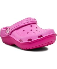 Pantoletten CROCS - Duet Wave Clog K 200367 Party Pink/Candy Pink