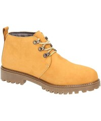 Lumberjack Kotníkové boty SM00101-006 Ankle Boot Men Leather Giallo Lumberjack