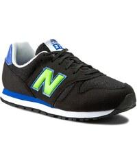 Sneakers NEW BALANCE - KJ373TNY Schwarz
