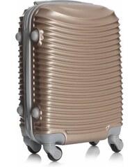 Palubní kufřík italské firmy Or&Mi 4 kolečka zlatá