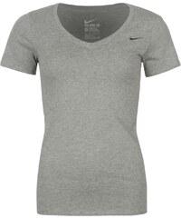 Tričko Nike Swoosh V Neck dám. šedá