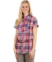 TopMode Pohodlná letní košile s páskem fialová
