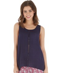 Ribbon Damen Top Blau