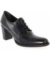 Boots Femme Janie Philip en Cuir Noir