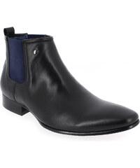 Boots Kdopa BENJY Noir pour Homme en Cuir - Promo