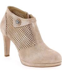Boots Rosemetal J1151 Rose pour Femme en Cuir - Promo