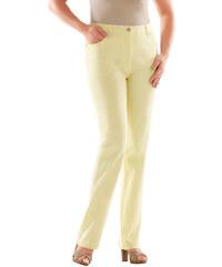 LADY Džíny žlutá - Krátká délka (K)