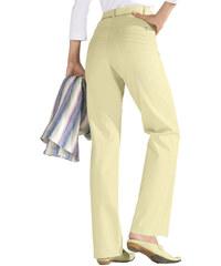 COLLECTION L. Kalhoty světle žlutá - Douhá délka (L)