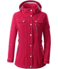 COLLECTION L. Softshellová bunda červená - Krátká délka (K)