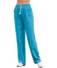CATAMARAN Kalhoty pro volný čas tyrkysová - Krátká délka (K)