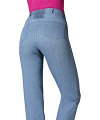 Džíny sepraná modrá - Normální délka (N)