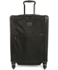 TUMI Schwarzer Handgepäckskoffer mit 4 Rollen Continental Alpha Travel