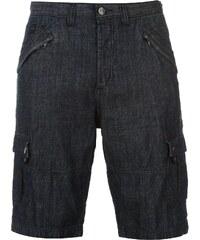Kraťasy pánské Crafted Cargo Shorts Mid Wash