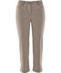 bpc bonprix collection Pantalon bengaline 3/4 marron femme - bonprix
