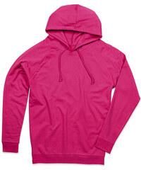 Unisex mikina Hoody - Růžová XS