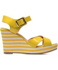 Made by SARENZA - Menthe Hello #15 - Sandalen für Damen / gelb