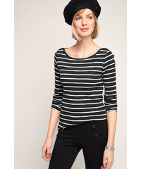 Esprit Pruhované tričko + dl. rukáv, 100% bavlna