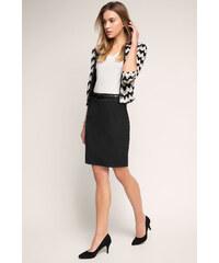 Esprit Klasická business sukně, streč a opasek